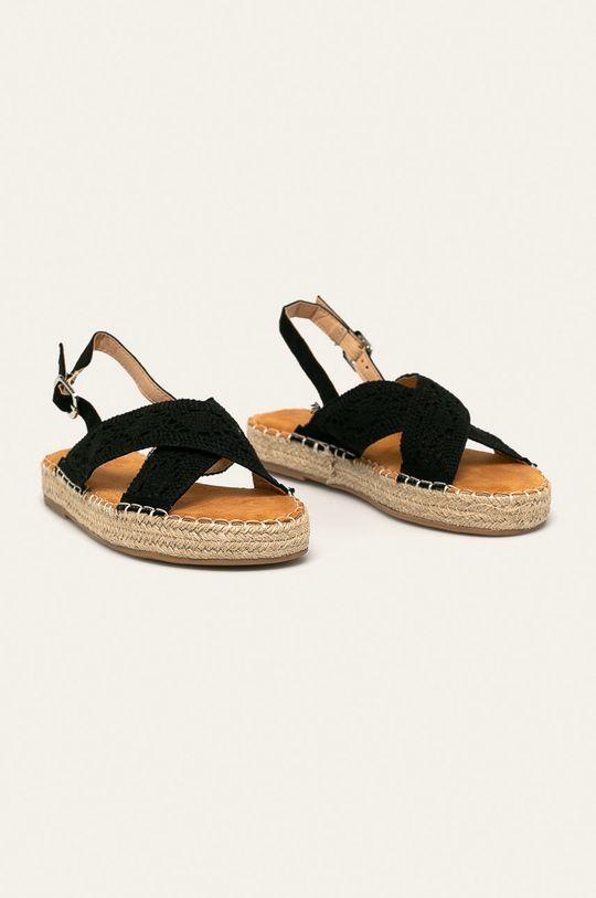 Answear - Sandály Best Shoes černá