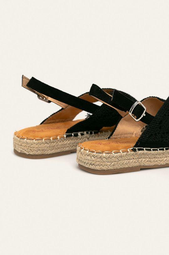 Answear - Sandály Best Shoes Svršek: Textilní materiál Vnitřek: Textilní materiál Podrážka: Umělá hmota