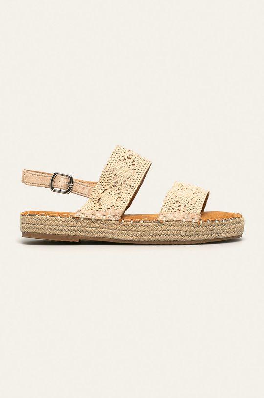 bej Answear - Sandale Best Shoes De femei