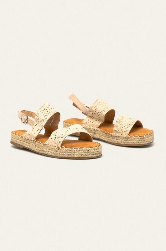 Answear - Sandale Best Shoes bej