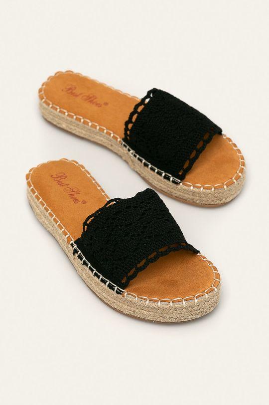 Answear - Klapki Best Shoes czarny