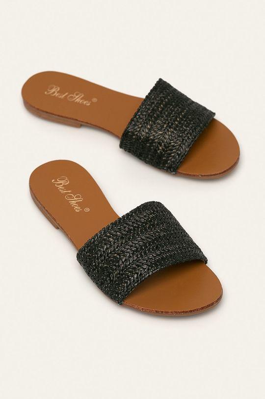 Answear Lab - Klapki Best Shoes czarny