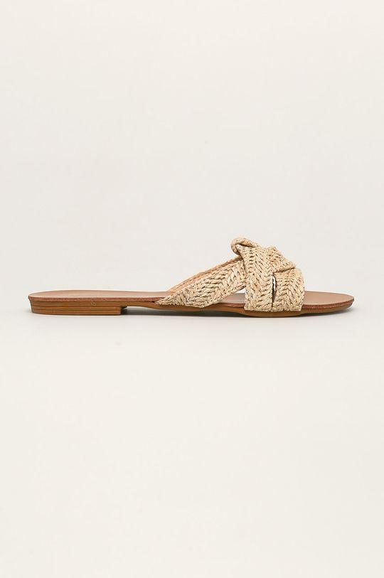 bej Answear - Papuci Best Shoes De femei