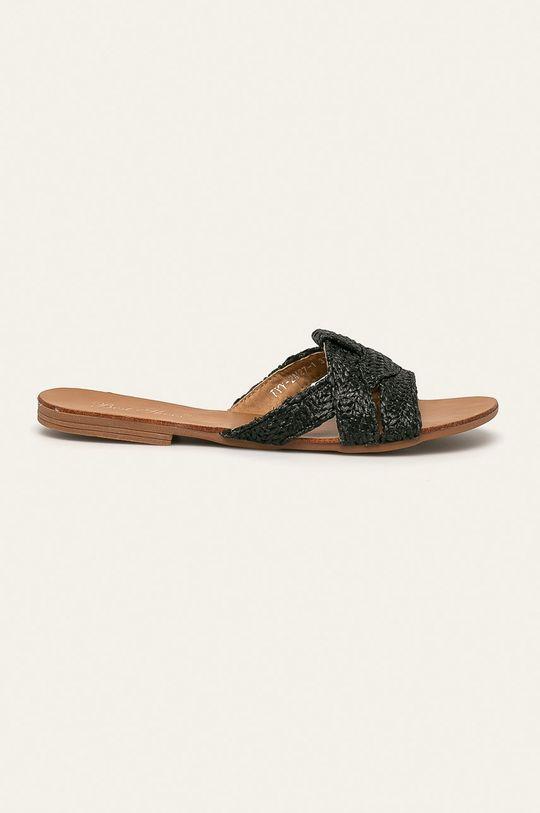černá Answear - Pantofle Best Shoes Dámský