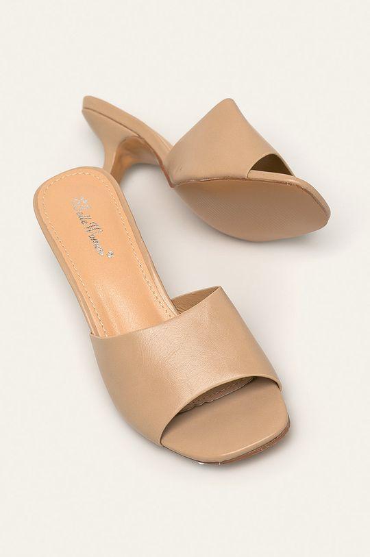 béžová Answear - Pantofle Belle Woman