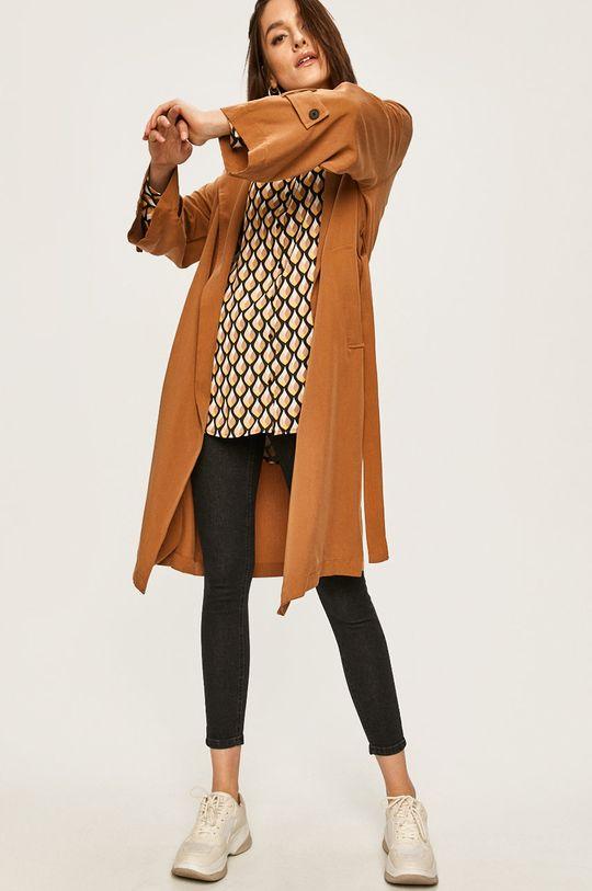 Answear Lab - Płaszcz brązowy