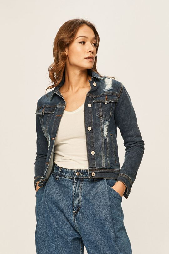 bleumarin Answear - Geaca jeans