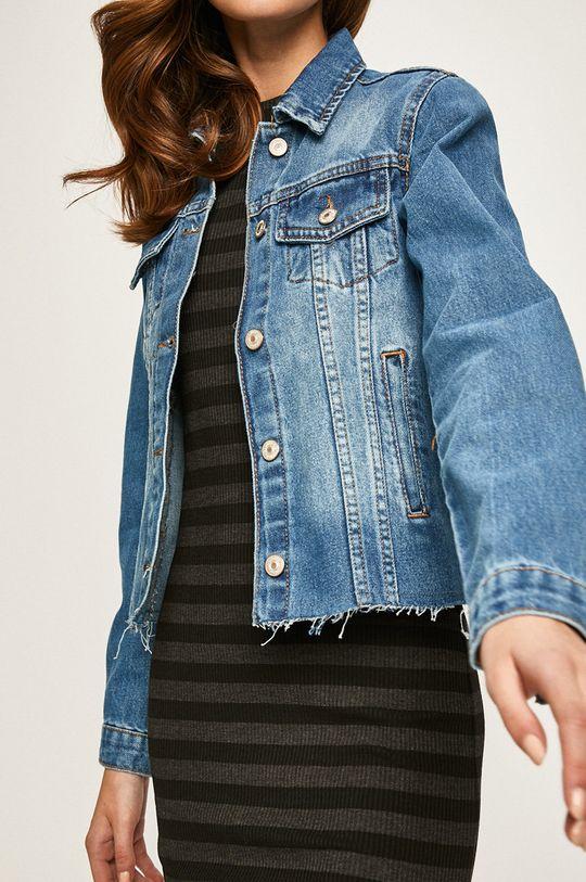 albastru Answear - Geaca jeans De femei