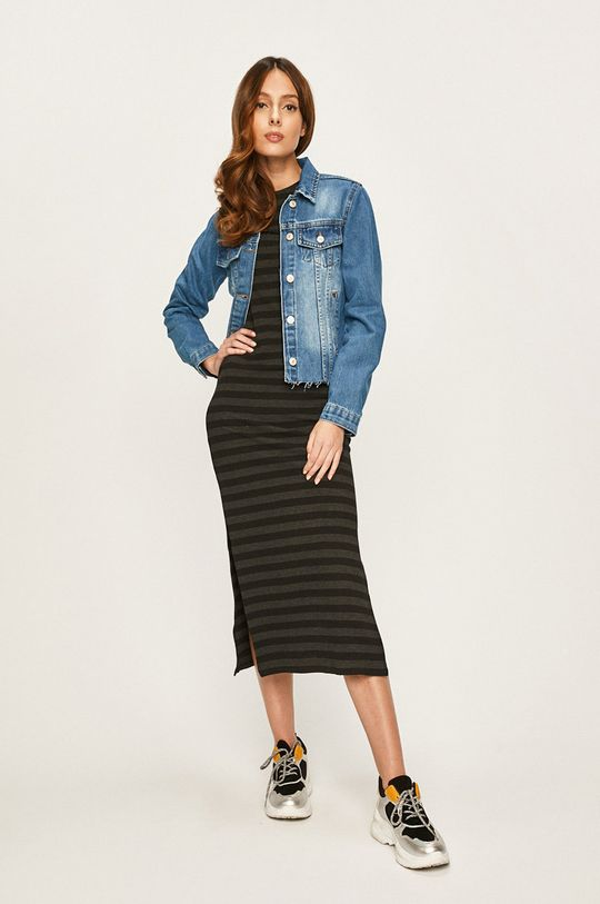 Answear - Geaca jeans albastru