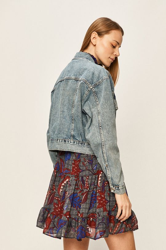 Answear - Geaca jeans 98% Bumbac, 2% Elastan