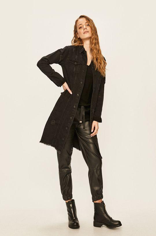 Answear - Geaca jeans negru