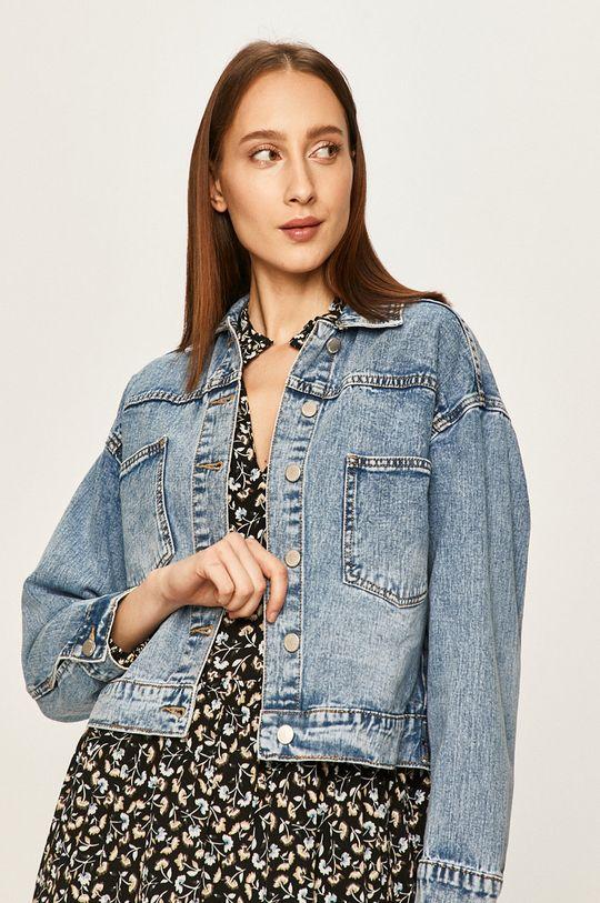 niebieski Answear - Kurtka jeansowa