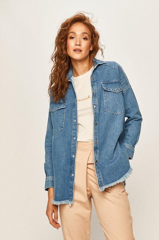 albastru Answear - Geaca jeans