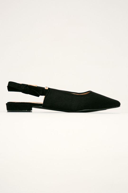 čierna Answear - Baleríny R and B Dámsky