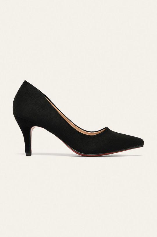 negru Answear - Pantofi cu toc De femei