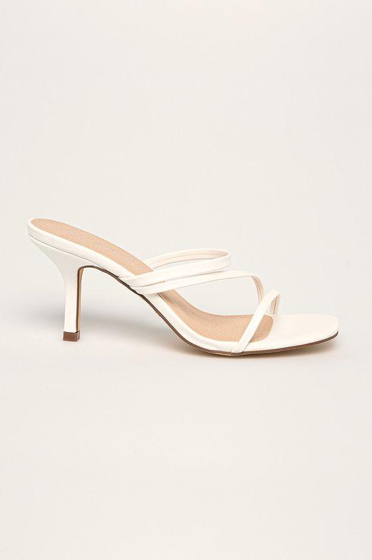 alb Answear - Papuci Ideal Shoes De femei