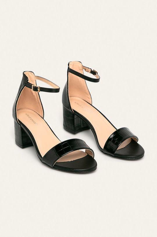 Answear - Sandale Ideal Shoes negru
