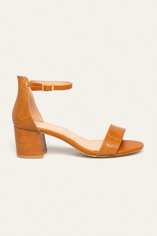 златисто-кафяв Answear - Сандали Ideal Shoes Жіночий