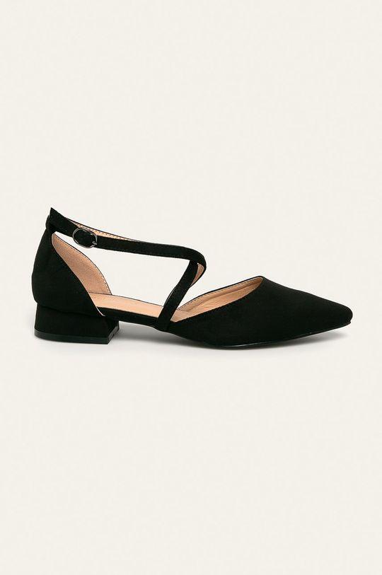 черен Answear - Балеринки Ideal Shoes Жіночий