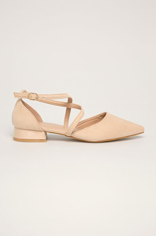 bej Answear - Balerini Ideal Shoes De femei