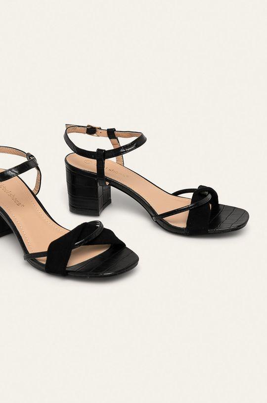 Answear - Sandále Ideal Shoes čierna