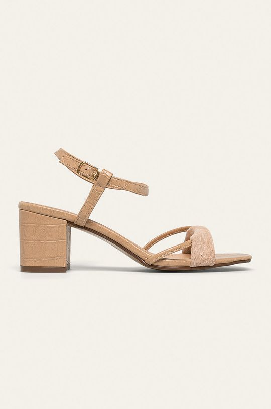 bej Answear - Sandale Ideal Shoes De femei