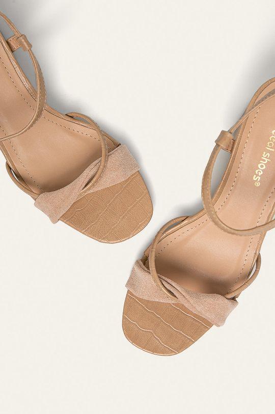 bej Answear - Sandale Ideal Shoes