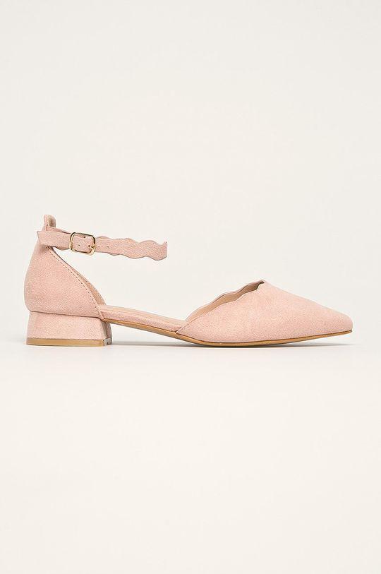 roz Answear - Balerini Ideal Shoes De femei