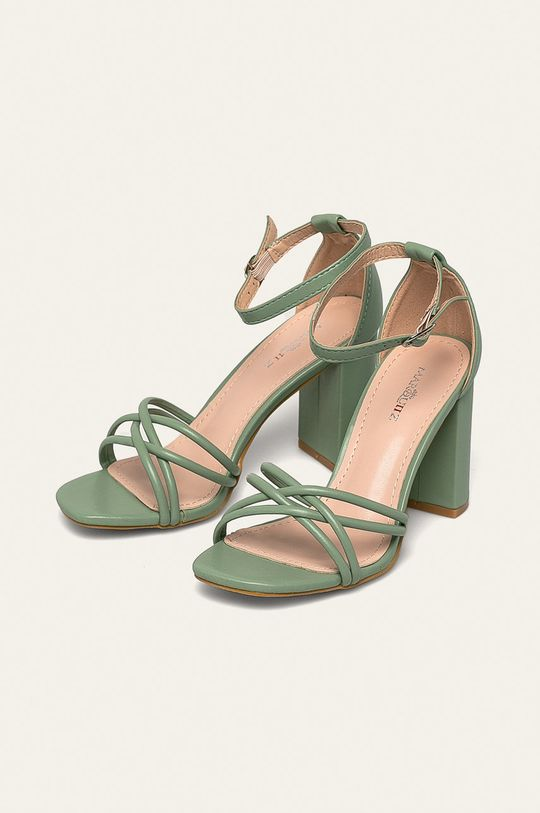 Answear - Sandále Ideal Shoes mätová