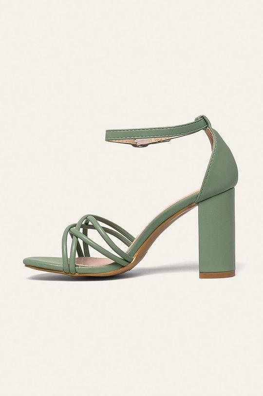 Answear - Sandále Ideal Shoes  Zvršok: Syntetická látka Vnútro: Syntetická látka Podrážka: Syntetická látka