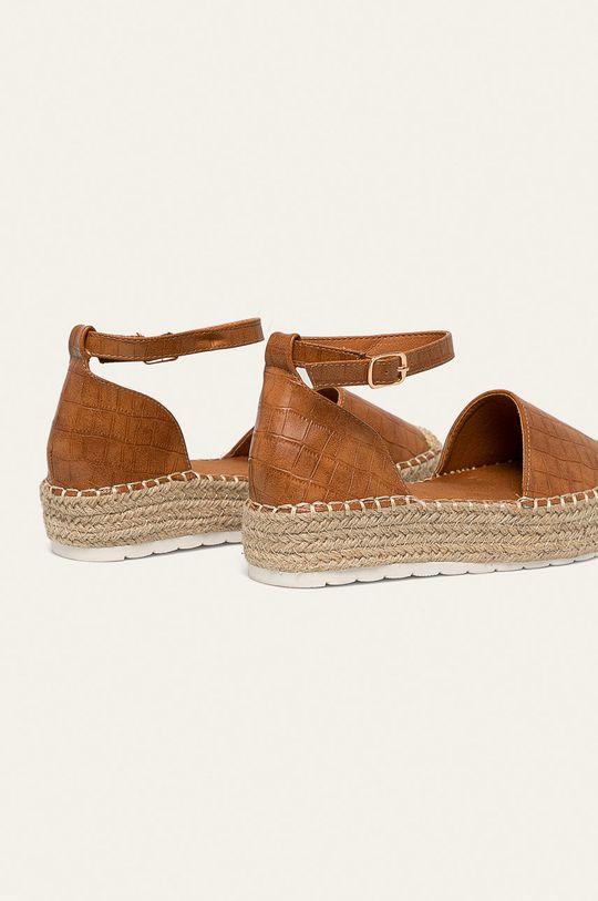 Answear - Espadrilky Ideal Shoes  Zvršok: Syntetická látka Vnútro: Syntetická látka, Textil Podrážka: Syntetická látka