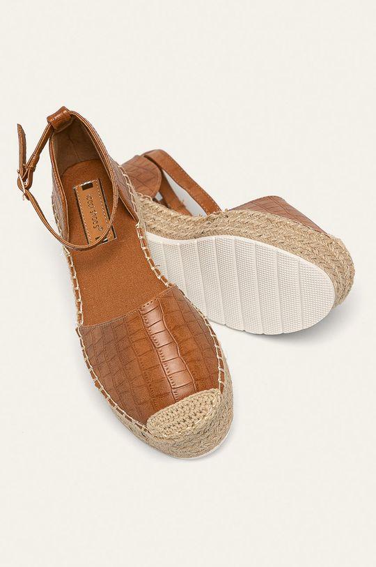 zlatohnedá Answear - Espadrilky Ideal Shoes