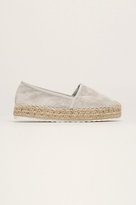 gri Answear - Espadrile Ideal Shoes De femei