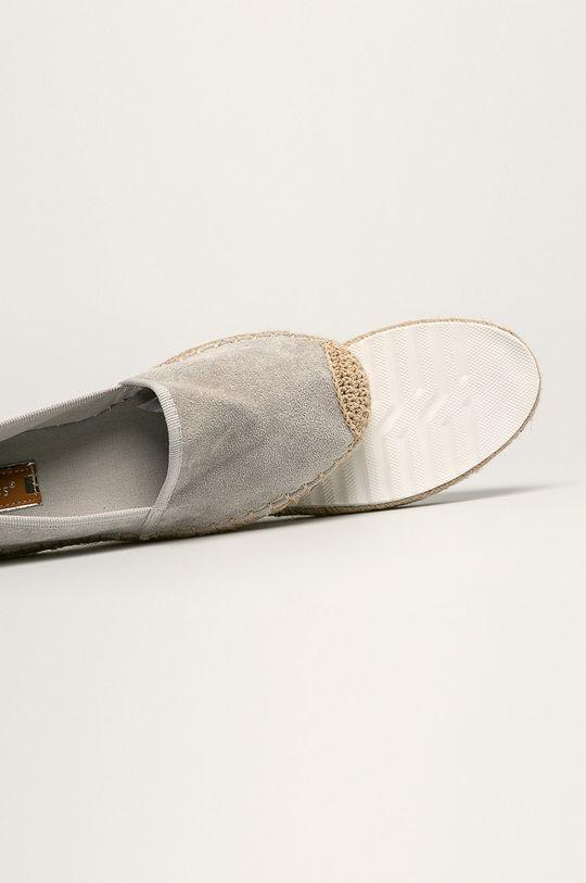 gri Answear - Espadrile Ideal Shoes