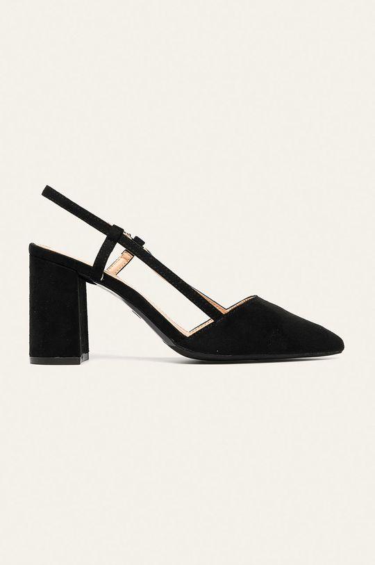 čierna Answear - Lodičky Ideal Shoes Dámsky