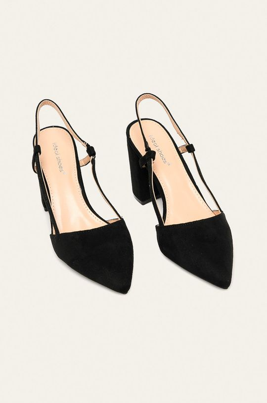 Answear - Lodičky Ideal Shoes čierna