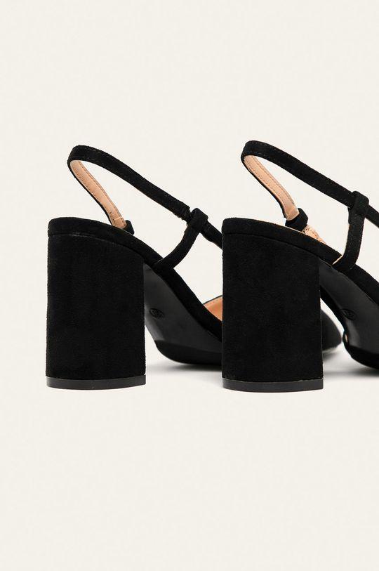 Answear - Lodičky Ideal Shoes  Zvršok: Textil Vnútro: Syntetická látka, Textil Podrážka: Syntetická látka