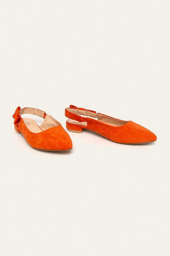 Answear - Baleríny Nio Nio oranžová