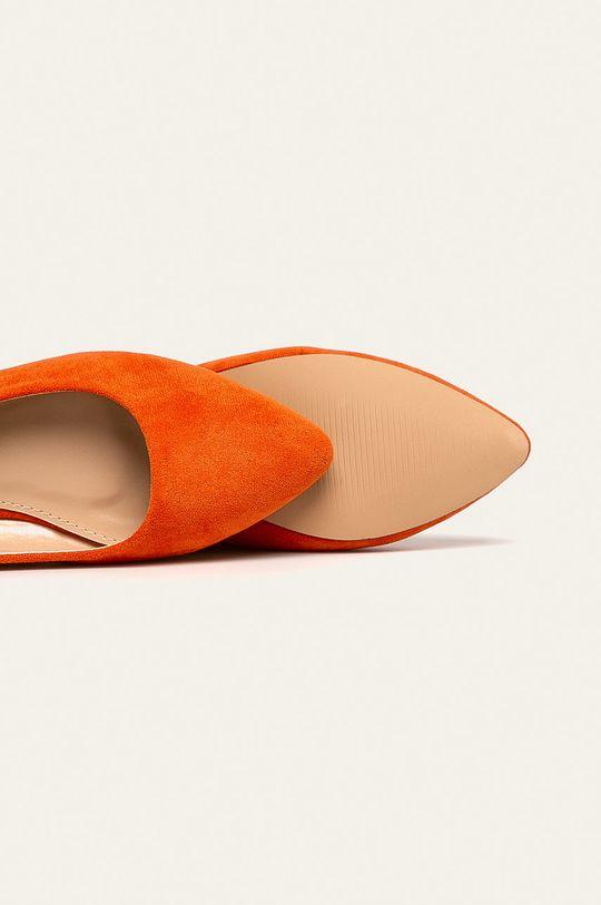 oranžová Answear - Baleríny Nio Nio