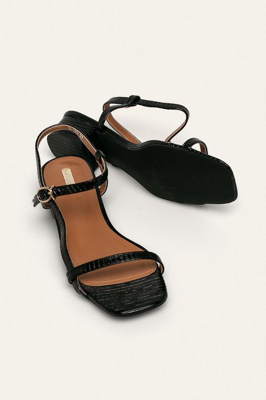 negru Answear - Sandale Bellucci