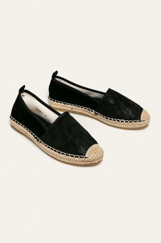 Answear - Espadrile Best Shoes negru