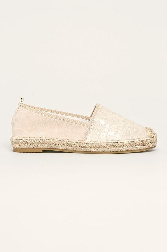 bej Answear - Espadrile Best Shoes De femei