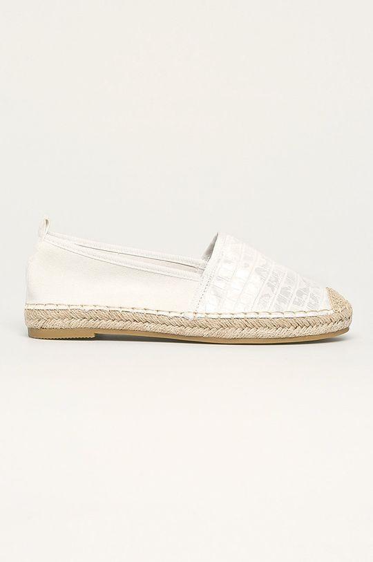 alb Answear - Espadrile Best Shoes De femei
