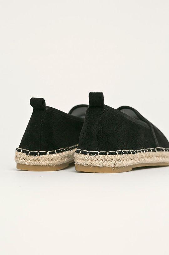 Answear - Espadrile Best Shoes Gamba: Material textil Interiorul: Material sintetic, Material textil Talpa: Material sintetic