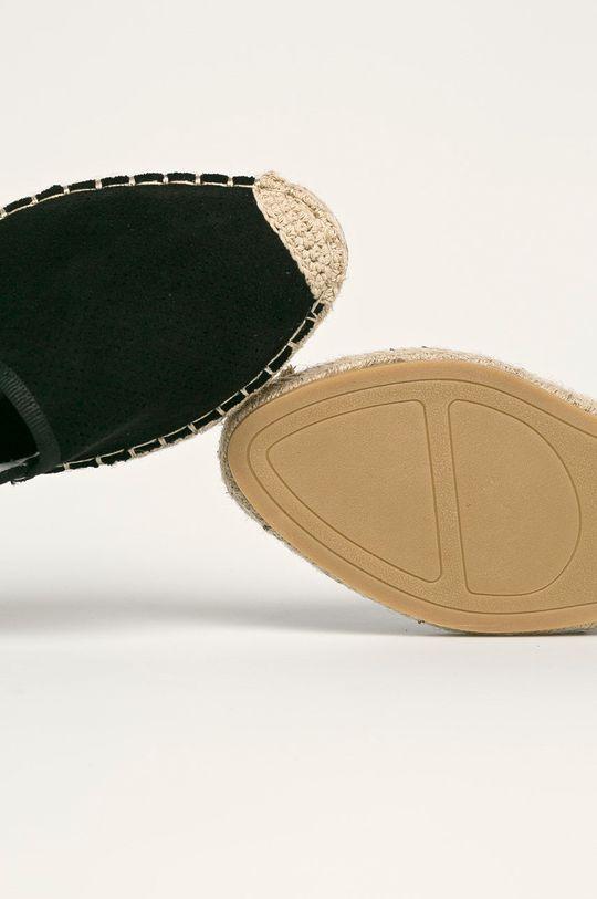 negru Answear - Espadrile Best Shoes