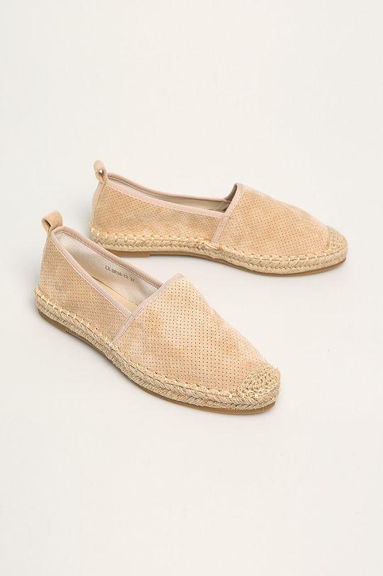 Answear - Espadrile Best Shoes bej