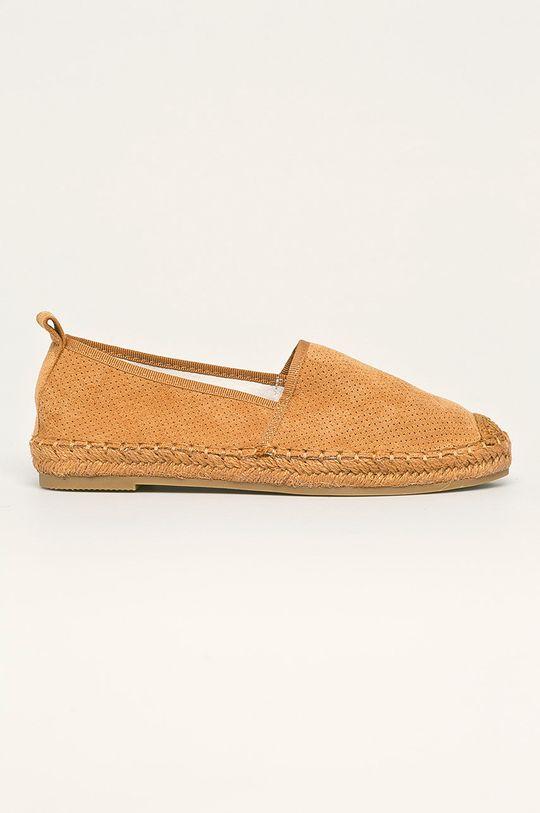 zlatohnědá Answear - Espadrilky Best Shoes Dámský