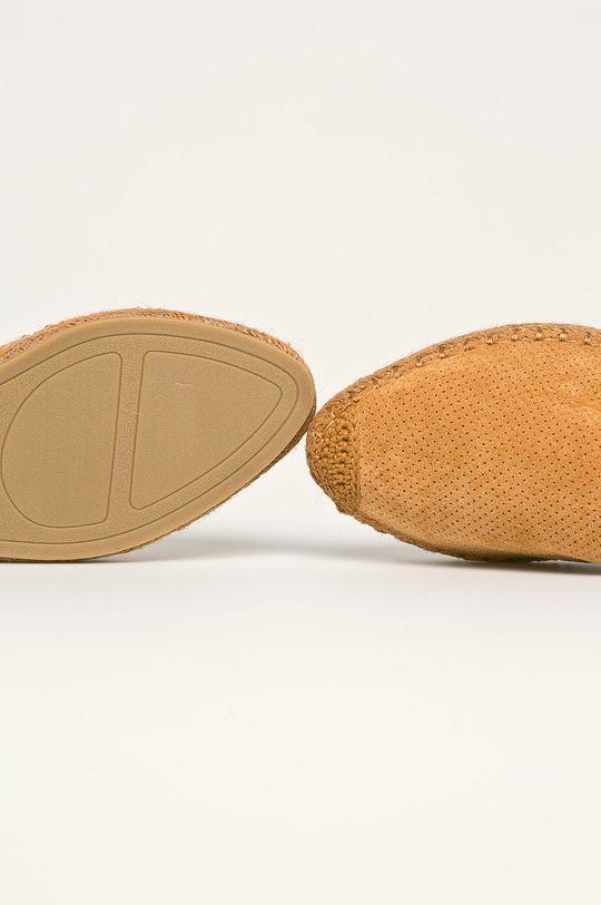 zlatohnědá Answear - Espadrilky Best Shoes