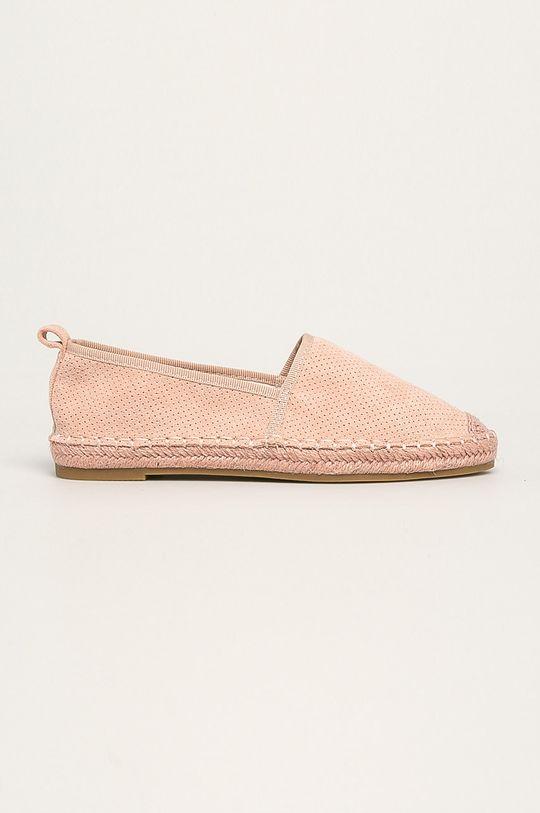 roz pastelat Answear - Espadrile Best Shoes De femei