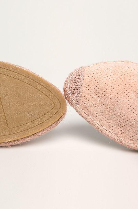 roz pastelat Answear - Espadrile Best Shoes